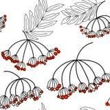 Αφηρημένο άνευ ραφής σχέδιο με την τέφρα Ελεύθερη απεικόνιση δικαιώματος