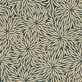 Αφηρημένο άνευ ραφής σχέδιο λουλουδιών κτυπημάτων Στοκ Εικόνες