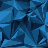 Αφηρημένο άνευ ραφής σχέδιο στα μπλε χρώματα Στοκ φωτογραφία με δικαίωμα ελεύθερης χρήσης