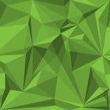 Αφηρημένο άνευ ραφής σχέδιο στις πράσινες σκιές Στοκ Εικόνες