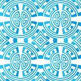 Αφηρημένο άνευ ραφής σχέδιο χρώματος Στοκ φωτογραφία με δικαίωμα ελεύθερης χρήσης