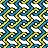 Αφηρημένο άνευ ραφής υπόβαθρο σχεδίων γεωμετρίας Στοκ φωτογραφίες με δικαίωμα ελεύθερης χρήσης