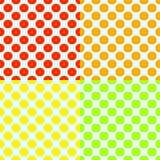 Αφηρημένο άνευ ραφής υπόβαθρο χρώματος με citrus-fruit ελεύθερη απεικόνιση δικαιώματος