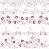 Αφηρημένο άνευ ραφής floral σχέδιο Στοκ Εικόνα