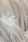 Αφηρημένο άσπρο χρωματισμένο χέρι υπόβαθρο Στοκ φωτογραφία με δικαίωμα ελεύθερης χρήσης