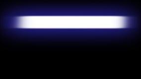 Αφηρημένο έμβλημα νέου των ελαφριών πυρακτώσεων σε ένα μαύρο υπόβαθρο Στοκ Φωτογραφίες
