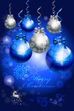 Αφηρημένο δέντρο μπιχλιμπιδιών της διακόσμησης καρτών Χριστουγέννων - διανυσματικό eps10 διανυσματική απεικόνιση