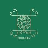 Αφηρημένο δέντρο λογότυπων Διανυσματική απεικόνιση