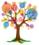 Αφηρημένο δέντρο ελεύθερη απεικόνιση δικαιώματος