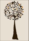 Αφηρημένο δέντρο Στοκ Φωτογραφία