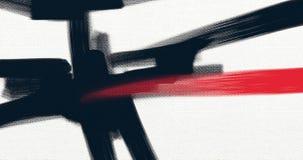 Αφηρημένο έργο τέχνης ύφους ελαιογραφίας στον καμβά απεικόνιση αποθεμάτων