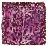 Αφηρημένο ακρυλικό monoprint Στοκ φωτογραφία με δικαίωμα ελεύθερης χρήσης