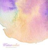 Αφηρημένο ακρυλικό και χρωματισμένο watercolor υπόβαθρο Στοκ εικόνες με δικαίωμα ελεύθερης χρήσης