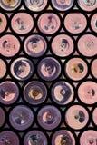 Αφηρημένο αναδρομικό εκλεκτής ποιότητας πορφυρό υπόβαθρο με αφηρημένο κατασκευασμένο Στοκ εικόνα με δικαίωμα ελεύθερης χρήσης