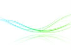 Αφηρημένο αναζωογονώντας φουτουριστικό κύμα κινήσεων swoosh Φωτεινό vibran απεικόνιση αποθεμάτων