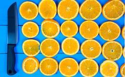 αφηρημένο ανασκόπησης εσπεριδοειδών στενό στούντιο φετών φωτογραφίας καρπού πορτοκαλί επάνω Κινηματογράφηση σε πρώτο πλάνο στενό  Στοκ Φωτογραφίες