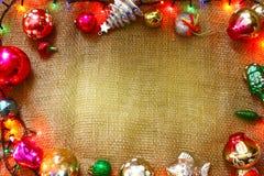 αφηρημένο ανασκόπησης Χριστουγέννων σκοτεινό διακοσμήσεων σχεδίου λευκό αστεριών προτύπων κόκκινο Άποψη διακοπών άνωθεν Στοκ φωτογραφία με δικαίωμα ελεύθερης χρήσης