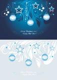 αφηρημένο ανασκόπησης Χριστουγέννων σκοτεινό διακοσμήσεων σχεδίου λευκό αστεριών προτύπων κόκκινο κάρτα Στοκ Εικόνες