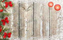 αφηρημένο ανασκόπησης Χριστουγέννων σκοτεινό διακοσμήσεων σχεδίου λευκό αστεριών προτύπων κόκκινο Ξύλινος πίνακας με τις διακοσμή Στοκ φωτογραφία με δικαίωμα ελεύθερης χρήσης