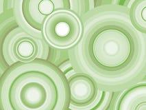 Αφηρημένο αναδρομικό διανυσματικό υπόβαθρο με τους κύκλους Στοκ Εικόνες
