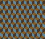 Αφηρημένο αναδρομικό Isometric υπόβαθρο μορφής Στοκ Εικόνα
