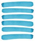 Αφηρημένο ανοιχτό περίπλοκο θαυμάσιο πανέμορφο κομψό γραφικό καλλιτεχνικό όμορφο μπλε, τυρκουάζ, οριζόντιες γραμμές ουλτραμαρίνης Στοκ Εικόνες