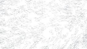 Αφηρημένο απλό γραπτό τρισδιάστατο πλέγμα ή πλέγμα κυματισμού ως καλό υπόβαθρο Γκρίζο γεωμετρικό δομένος περιβάλλον ή απεικόνιση αποθεμάτων
