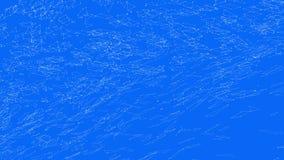 Αφηρημένο απλό μπλε που κυματίζει το τρισδιάστατο πλέγμα ή το πλέγμα ως fractal περιβάλλον Μπλε γεωμετρικό δομένος περιβάλλον ή ν διανυσματική απεικόνιση