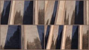 Αφηρημένο αρχιτεκτονικό κολάζ Στοκ Εικόνα