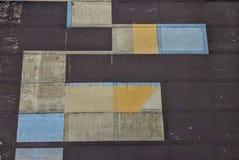 Αφηρημένο αρχιτεκτονικό πλέγμα Στοκ εικόνες με δικαίωμα ελεύθερης χρήσης