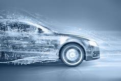 Αφηρημένο αυτοκίνητο διανυσματική απεικόνιση