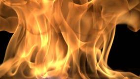 Αφηρημένο βίντεο πυρκαγιάς καψίματος φιλμ μικρού μήκους