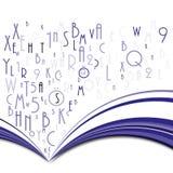 αφηρημένο βιβλίο απεικόνιση αποθεμάτων