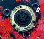 Αφηρημένο βιομηχανικό υπόβαθρο Στοκ φωτογραφία με δικαίωμα ελεύθερης χρήσης