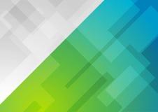 Αφηρημένο γαλαζοπράσινο γεωμετρικό υπόβαθρο διανυσματική απεικόνιση