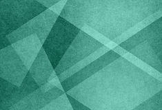 Αφηρημένο γαλαζοπράσινο υπόβαθρο με τις μορφές τριγώνων και τα διαγώνια στοιχεία σχεδίου γραμμών Στοκ εικόνες με δικαίωμα ελεύθερης χρήσης