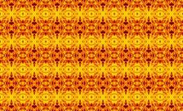 Αφηρημένο γεωμετρικό άνευ ραφής σχέδιο σε ένα ορθογώνιο κίτρινου, ή ελεύθερη απεικόνιση δικαιώματος
