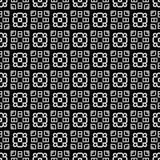 Αφηρημένο γεωμετρικό άνευ ραφής σχέδιο σε γραπτό, διάνυσμα Απεικόνιση αποθεμάτων