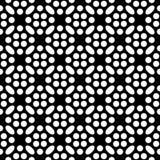 Αφηρημένο γεωμετρικό άνευ ραφής σχέδιο σε γραπτό, διάνυσμα Διανυσματική απεικόνιση