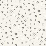 Αφηρημένο γεωμετρικό γραπτό γραφικό ελάχιστο ημίτονο σχέδιο Στοκ εικόνες με δικαίωμα ελεύθερης χρήσης