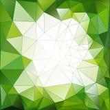 Αφηρημένο γεωμετρικό διανυσματικό υπόβαθρο τριγώνων Στοκ φωτογραφία με δικαίωμα ελεύθερης χρήσης