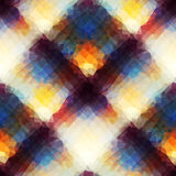 Αφηρημένο γεωμετρικό καρό Στοκ εικόνα με δικαίωμα ελεύθερης χρήσης