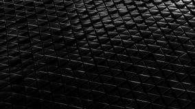 Αφηρημένο γεωμετρικό μαύρο υπόβαθρο μαργαριταριών από τη μικρή προοπτική DOF τριγώνων ελεύθερη απεικόνιση δικαιώματος