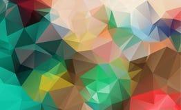 Αφηρημένο γεωμετρικό πλήρες χρώμα υποβάθρων διανυσματική απεικόνιση