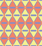 αφηρημένο γεωμετρικό πρότυπο άνευ ραφής Στοκ Φωτογραφία