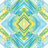 αφηρημένο γεωμετρικό πρότυπο Στοκ εικόνα με δικαίωμα ελεύθερης χρήσης