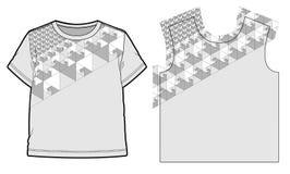 αφηρημένο γεωμετρικό πρότυπο Στοκ φωτογραφία με δικαίωμα ελεύθερης χρήσης