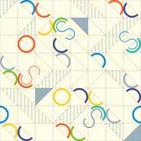 αφηρημένο γεωμετρικό πρότ&upsilon Γραμμικό υπόβαθρο μοτίβου Στοκ Εικόνες