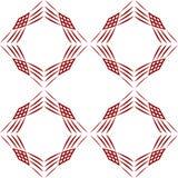 αφηρημένο γεωμετρικό πρότ&upsilon Στοκ Εικόνες