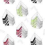 αφηρημένο γεωμετρικό πρότ&upsilon Στοκ Φωτογραφίες